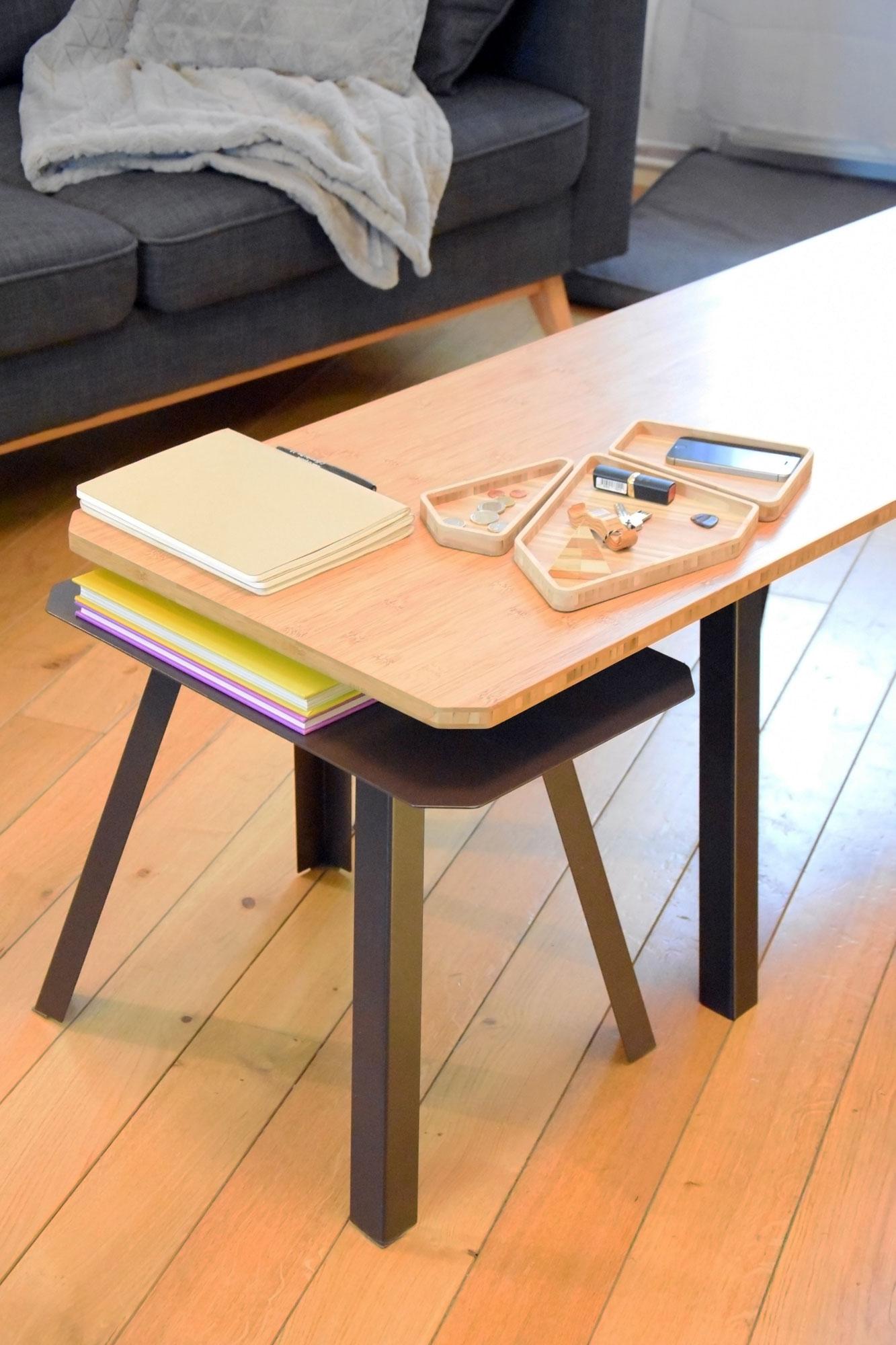big tables gigognes baru design. Black Bedroom Furniture Sets. Home Design Ideas