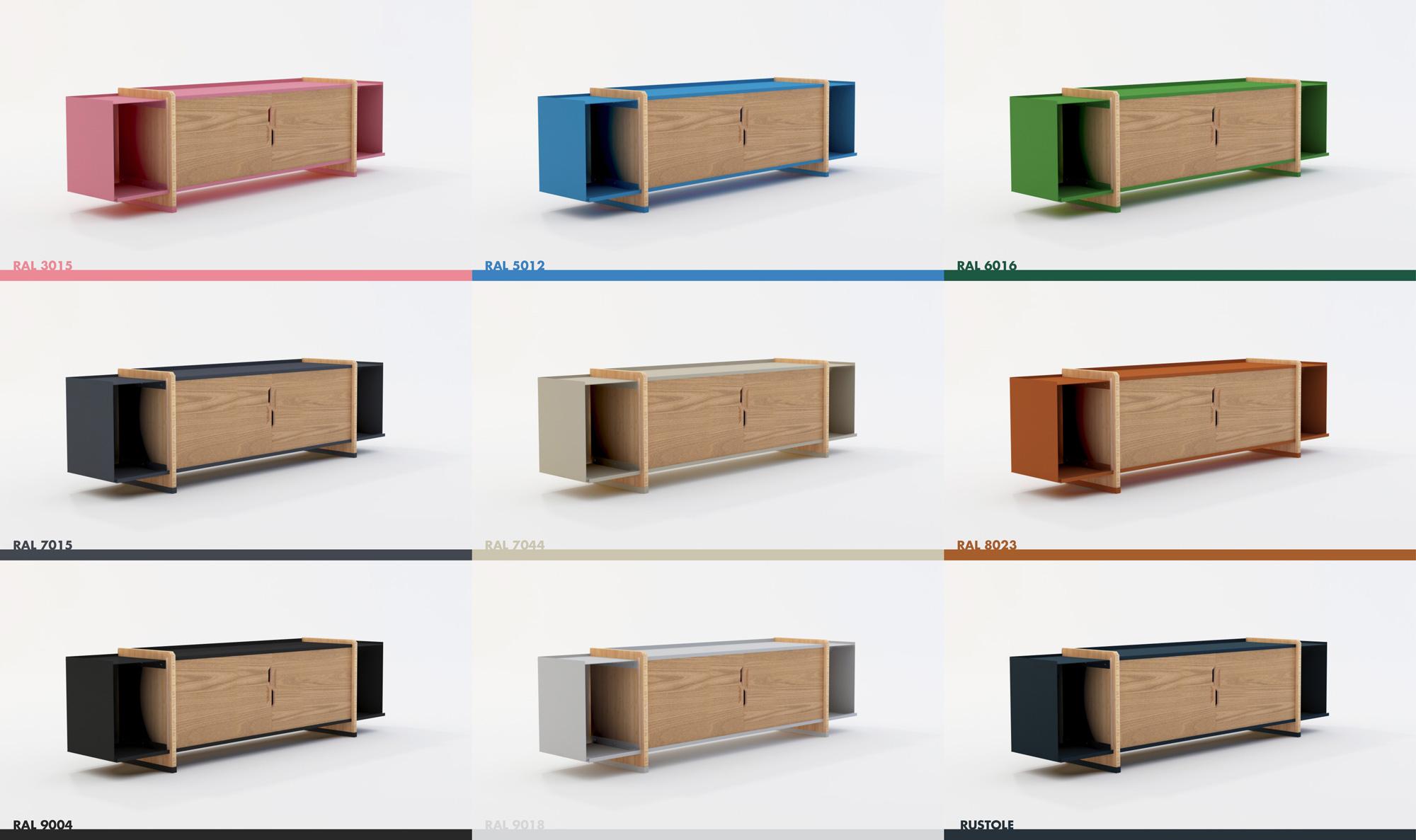 commode x commode basse baru design. Black Bedroom Furniture Sets. Home Design Ideas