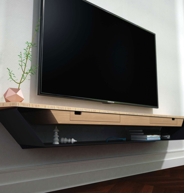 lilliac / meuble tv ? baru design - Meuble Tv Design Suspendu