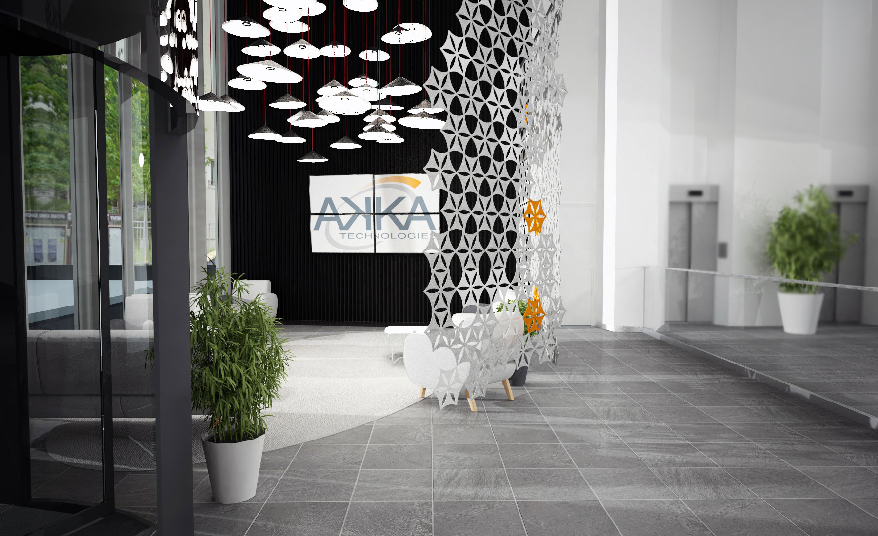 OPEN SPACE – LOBBY & CAFET / Akka Toulouse
