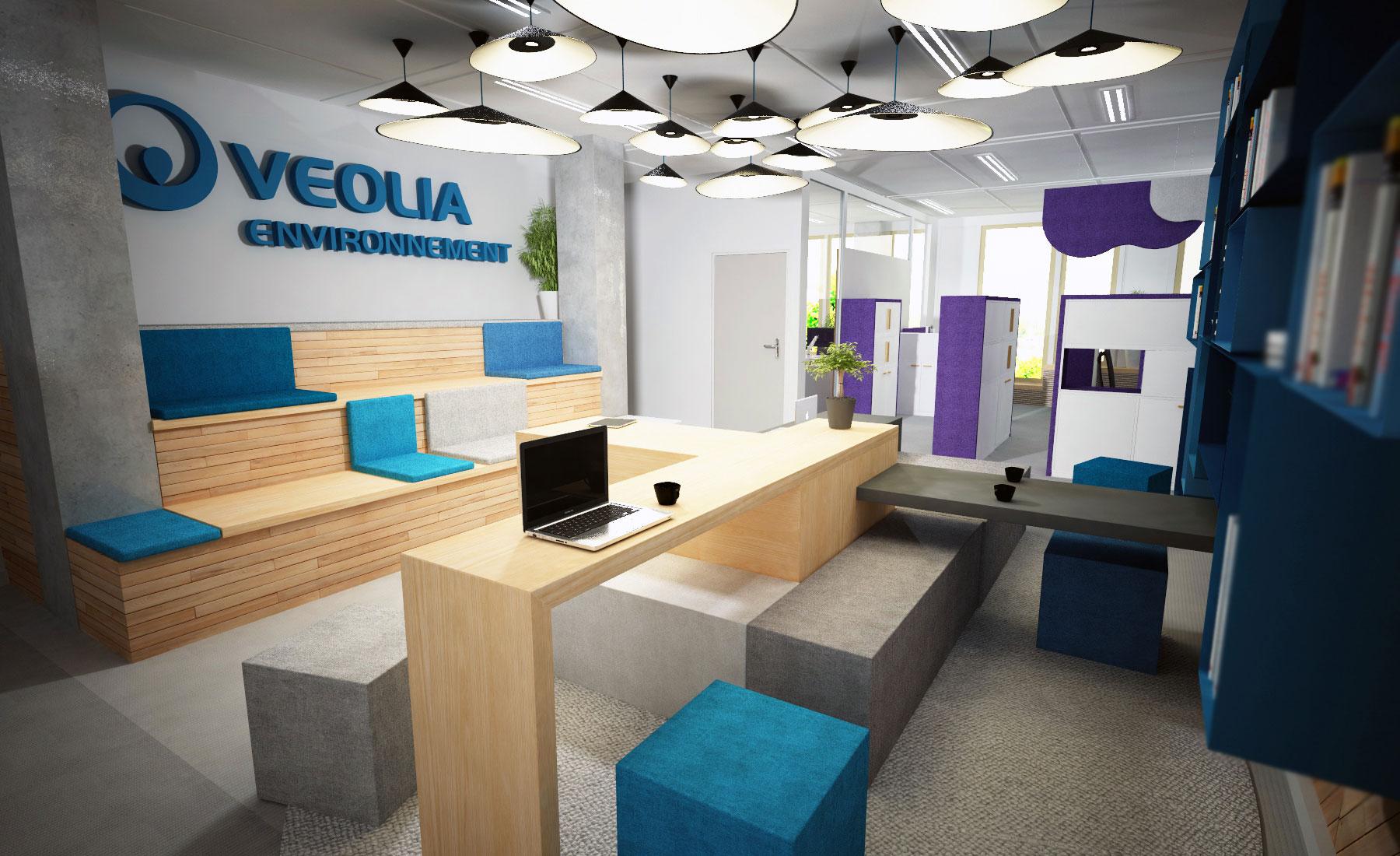 OPEN SPACE / Nouveau siège de Veolia