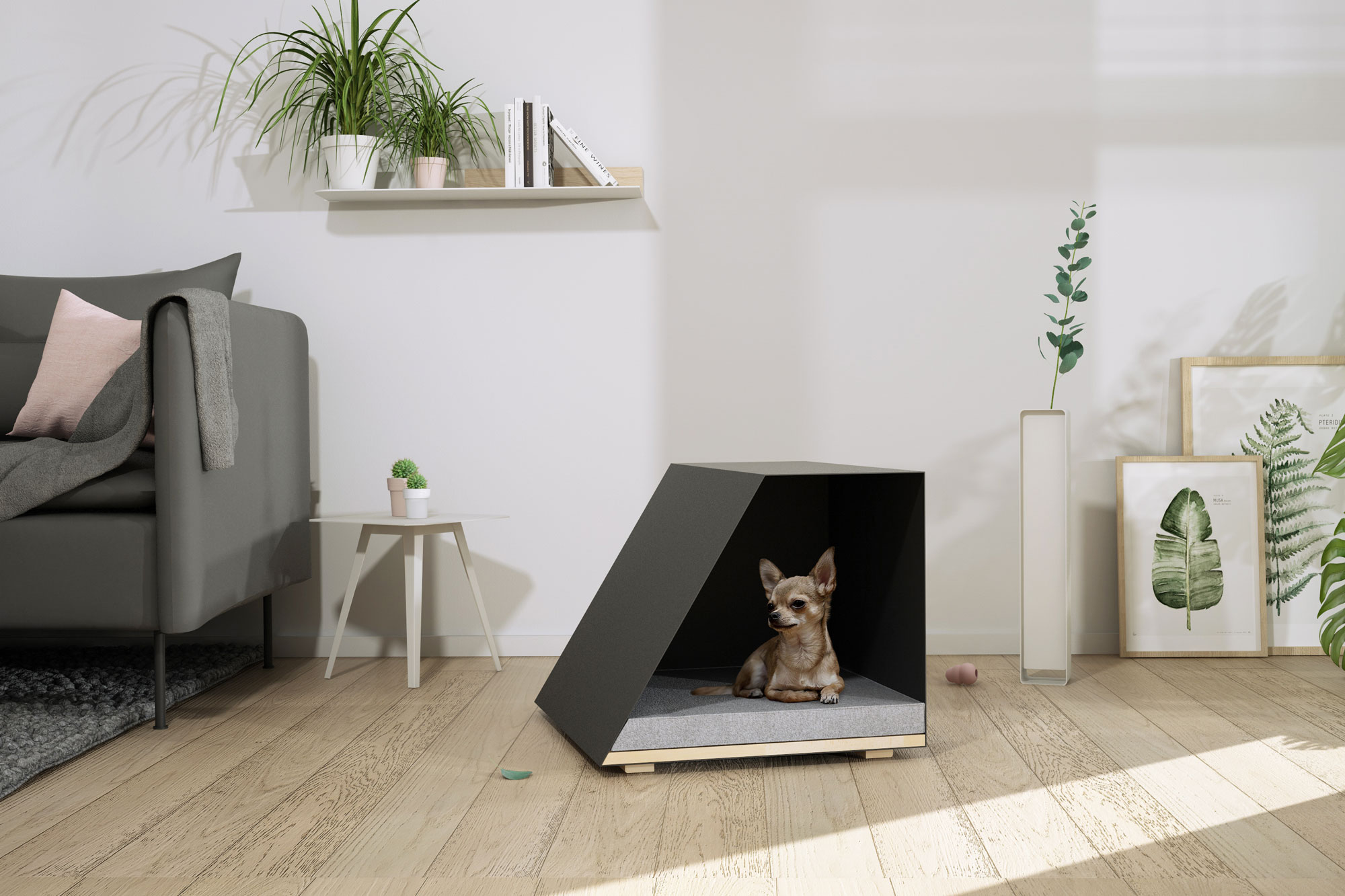 barudesign nac s niche a chien et chat